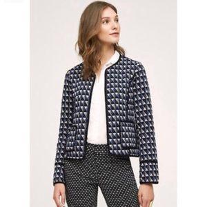 Hey Hei Vala geometric blazer jacket XS PETITE xsp